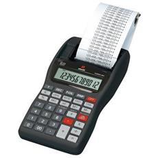 Calcolatrice Stampante Portatile Summa 301 LCD 12 Cifre Colore Nero