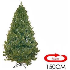 Albero Di Natale Ebal 1,50mt Super Folto Effetto Realistico Art. 498916