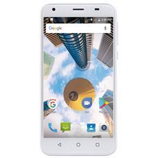 "PhonePad Duo S5 Bianco 16 GB 4G / LTE Dual Sim Display 5"" Slot Micro SD Fotocamera 8 Mpx Android Italia"