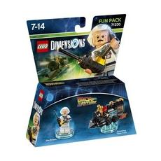 LEGO Dimensions Fun Pack - Back to the Future Doc Brown, LEGO, Multicolore, LEGO Dimensions