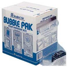 rotolo a bolle d'aria pretagliato in 100fg 30x50cm aircap strap