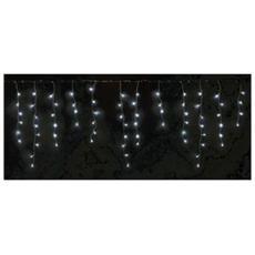 Tenda Luminosa per Esterno con Luce Fredda a 72 Led 80 x 220 cm