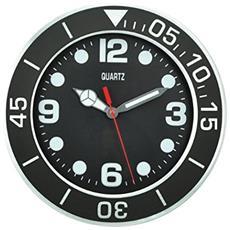 Orologio Parete Quartz Nero 30cm