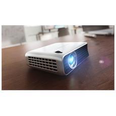 Proiettore PPX4010 WVGA 100 ANSI Lumens Rapporto di contrasto 1500:1 HDMI / USB