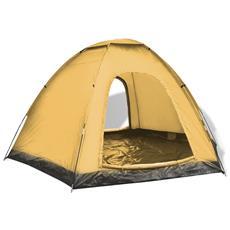 Tenda Per 6 Persone Gialla