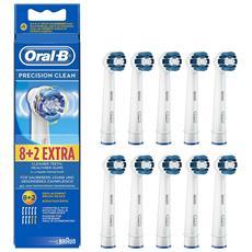 Braun Oral-B Testina di ricambio Precision Clean 8+2