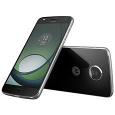 "Moto Z Play Nero Dual Sim Display 5.5"" Full HD Ram 3GB Storage 32GB +Slot MicroSD Wi-Fi 4G / LTE Bluetooth Fotocamera 16Mpx / 5Mpx Android 6.0 - Italia RICONDIZIONATO"