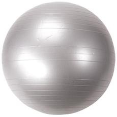 Palla Pilates Antiscoppio Mf503 Movi Fitness Argento Ø Cm 75