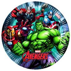 Piatti Avengers 20 Cm