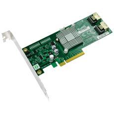 AOC-SAS2LP-MV8, PCIe, 2 x SFF 8087, JBOD, 6 Gbit / s, Verde, Windows Server 2003, Windows Server 2008