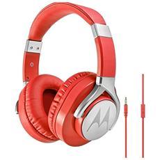 Pulse Max Padiglione auricolare Stereofonico Cablato Rosso auricolare per telefono cellulare