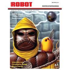 Robot. Rivista di fantascienza (2010) . Vol. 61