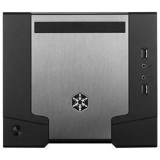 Sugo SFF Mini ITX, Con Alimentatore ATX 600W, 80 Plus bronze, Nero