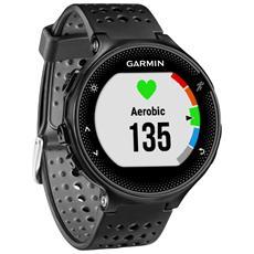 Forerunner 235 WHR GPS da Polso Impermeabile 5ATM con Funzione Contapassi Cardio e Sonno Nero / Grigio