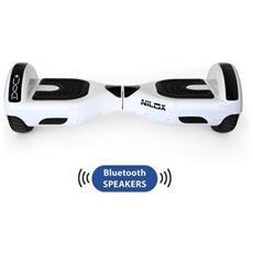 NILOX - DOC+ Hoverboard Elettrico Bianco con Speaker Bluetooth