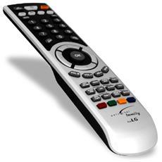 Telecomando universale per TV LG, nero / argento