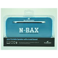 N-BAX, 2.0, 5W, 5W, Con cavo e senza cavo, Bluetooth / 3.5 mm, Bluetooth