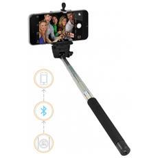 Selfie Stick Monopod BT-X13, Nero, Argento, Bluetooth 2.1