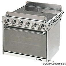 Cucina elettrica con forno
