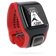 Multi-Sport Cardio con GPS e Cardiofrequenzimetro Colore Nero / Rosso