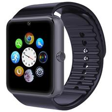 """Smartwatch GT08 Display 1.54"""" Touch Bluetooth per Android e iOS Nero- Europa"""