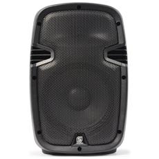 Cassa Amplificata Professionale 200w Bluetooth Usb-sd Woofer 21 Cm In Abs Art 178040