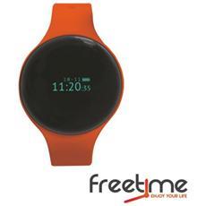 "Smartwatch FreeTime Display 0.66"" Bluetooth Arancione - Italia"