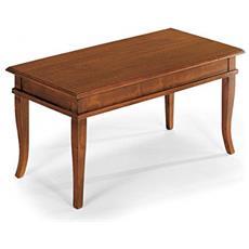 Tavolino Bacheca Piano Legno 100 X50x45h