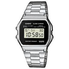 Orologio Digitale Con Illuminazione Display, Calendario Automatico, Allarme Giornaliero. Accuratezza +/- 30 Sec Secondi Al Mese. - A158wea-1ef