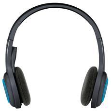 Cuffie Wireless Headset H600 con Microfono - Nero