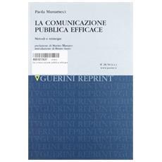 Comunuicazione pubblica efficace (La)