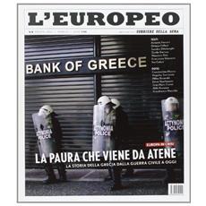 L'europeo (2012) . Vol. 8: La paura che viene da Atene.