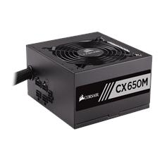 Alimentatore 650 Watt Serie CXM Modulare ATX Certificazione 80 Plus Bronze