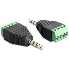 IADAP TB4-AU35M - Adattatore Audio 3.5'' Maschio a Terminal Block 4 pin
