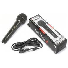 Microfono Dinamico Fenton 600 Ohm Case In Plastica Art. 173126
