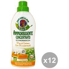 Set 12 Ammorbidente Concentrato Eco. fior Di Cotone 625 Ml. Detergent