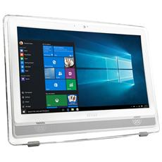 "All-In-One PRO 22ET 4BW-022XEU Monitor 21.5"" Full HD Multi Touch Intel Celeron N3160 Quad Core 1.6 GHz Ram 4GB Hard Disk 1TB 2xUSB 3.0 Free Dos"