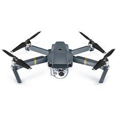 Mavic Pro Fly More Drone Professionale Cam 4K 12,35 Mpx con Gimbal 3 assi Combo Kit Zaino + Caricabatterie Hub / Auto
