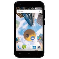 "PhonePad Duo G4 Nero 8 GB 4G / LTE Dual Sim Display 4"" Slot Micro SD Fotocamera 5 Mpx Android Italia"