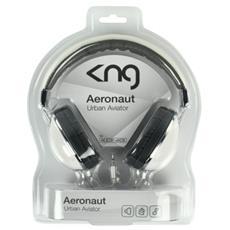 Aeronaut, Padiglione auricolare, 150 mW, 20 - 20000 Hz, Cablato, 1,5m, Nichel