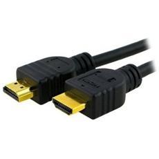 Cavo ADJ AV HDMIHDMI 2.0 4K, MM 5 m Col. Nero rivestimento in plastica