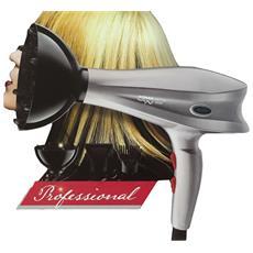 Asciugacapelli Con Diffusore E Pettine Phon 3000 Watt Capelli Professionale Parrucchiere Coiffeur Barbiere