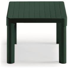 Tavolino Tip Quadro Verde - 100% Resina Di Prima Qualita' - Riciclabile 100% - Smontabile - Dimensione: Cm.47x47 H.38 - 1030