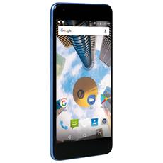 "PhonePad Duo S7p Blu 16 GB 4G / LTE Dual Sim Display 5.5"" HD Slot Micro SD Fotocamera 13 Mpx Android Italia"