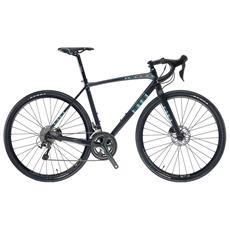 Bici Corsa Bianchi Impulso Allroad Tiagra 10v Compact Disco Mecc. Nero Ck16 Grafite Opaco