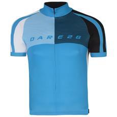 Aep Chase Out Maglietta Da Ciclismo A Manica Corta Uomo (s) (blu Fluo)