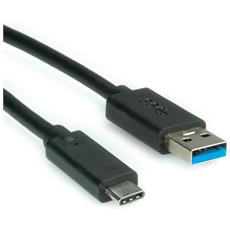 USB 3.1 Cable, A-C, M / M 1 m