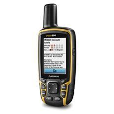 "GPSMAP 64 Ricevitore GPS con Display 2.6"" Memoria 4GB +Slot MicroSD Mappe Mondo, 2D e 3D"