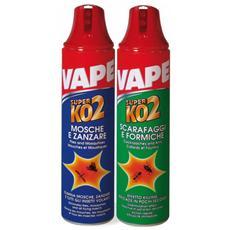 Insetticida Spray Antimosche e Zanzare Super Ko 2 Vape 400 Ml