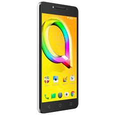 """A5 Led Argento 16 GB 4G / LTE Display 5.2"""" HD Slot Micro SD Fotocamera 8 Mpx Android Italia"""